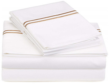 Luxury soft comfortable cotton bed sheet set