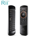 Hot selling Original Rii mini i25 2 4Ghz Air Mouse Remote Control with Russian Keyboard for