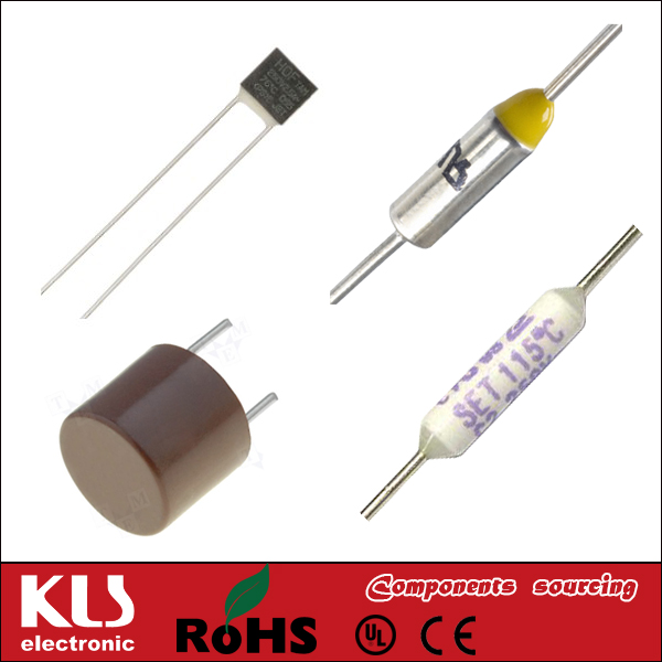 Good quality thermal cutoff fuse UL CE ROHS 001 KLS Brand