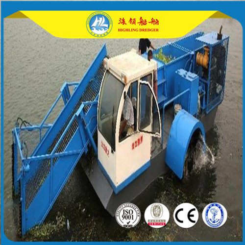 Automatic Water Hyacinth Harvester