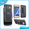 Sample Available Free 3 en 1 Combo Holster Phone Cases Cover for Samsung Galaxy S7 Edge