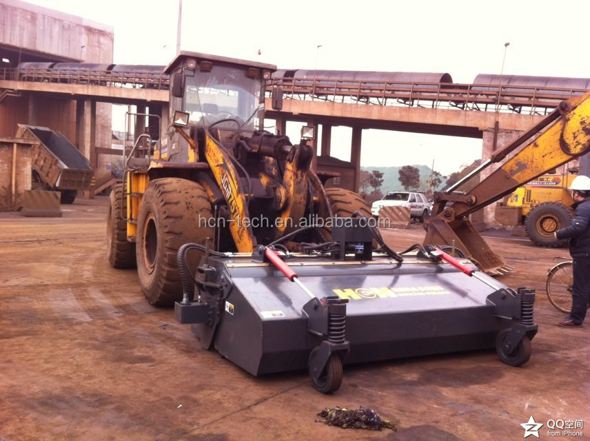 Brand New Pick Up Broom Sweeper Attachment For Wheel