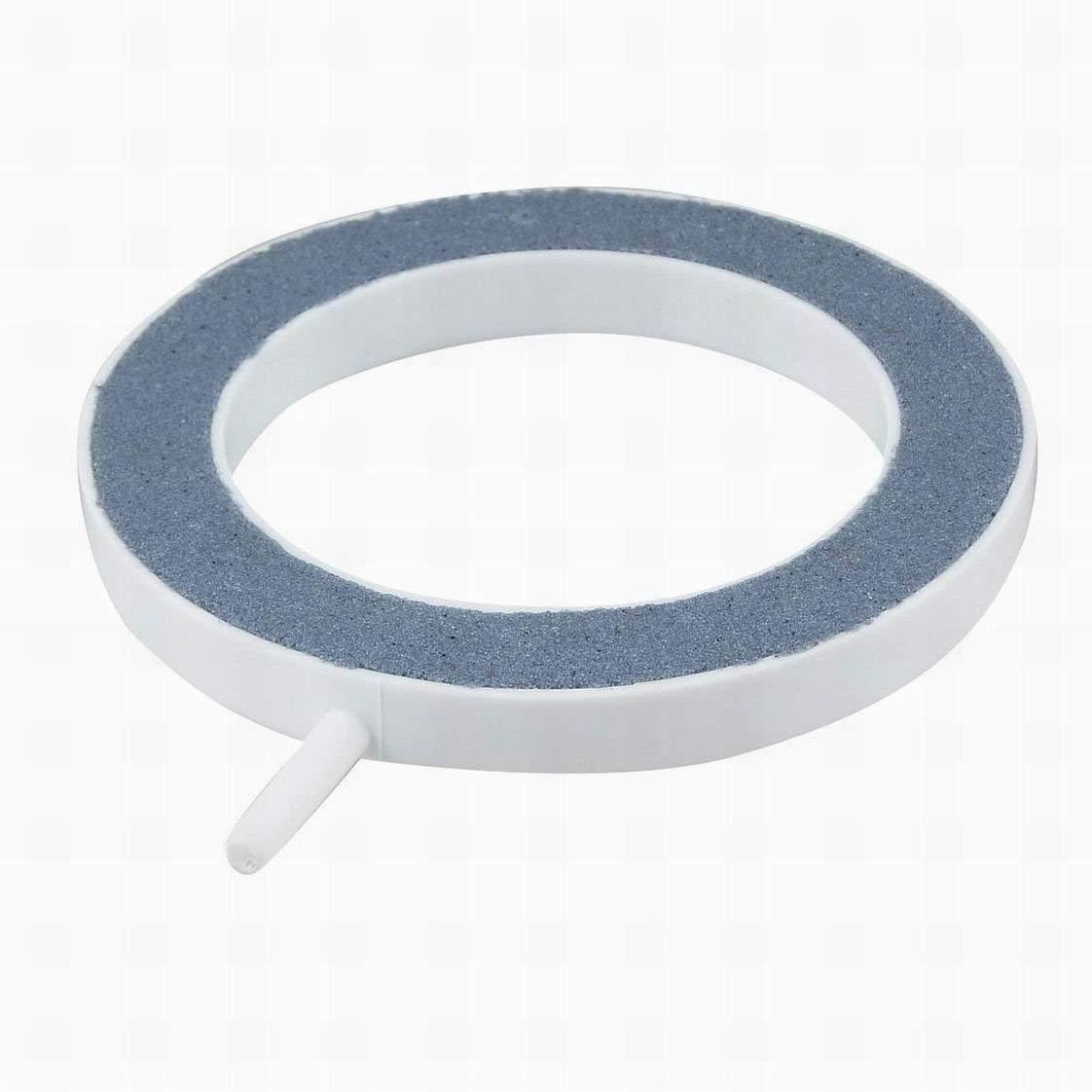 Houseuse Aquarium Bubbles Airstone, 5mm Hose, Blue/White
