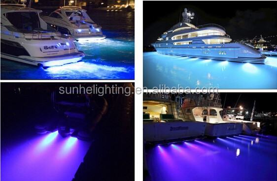Stainless steel IP54 12V 3W Interior LED Marine Light for Boat,Yacht,RV