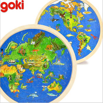 2016 New Design Goki Sided World Map Jigsaw Puzzle Children's Educational Map Jigsaw Puzzles on european puzzles, printable world geography puzzles, floor puzzles, australian puzzles, map of germany and austria, map puzzles online, melissa and doug knob puzzles, large disney puzzles, map desktop wallpaper, map of countries the uk, north american wildlife puzzles, map puzzles easy, wildlife gallery puzzles, map of continents,