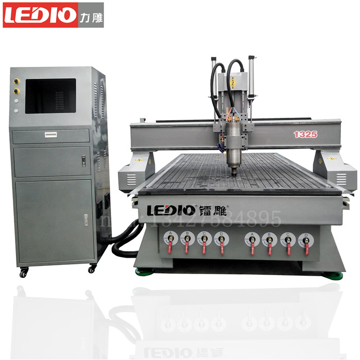 China manufacturer LD1325Cnc carving Machine/DSP Control 3d Cnc Router Machine/wood processing machine for cabinet door making