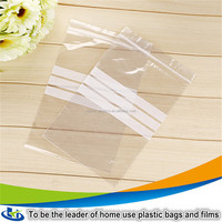 protective valve cover sealed plastic bag clear zipper bag