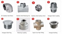 full size elbow, tee, cross,nuion. plug, cap, coupling pipe fittings
