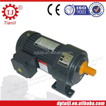 Electric motor planetary helical reduction gearbox motor for Electric motor reduction gearbox