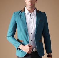 S10357A New high quality slim fit suit men's fashion custom suit online