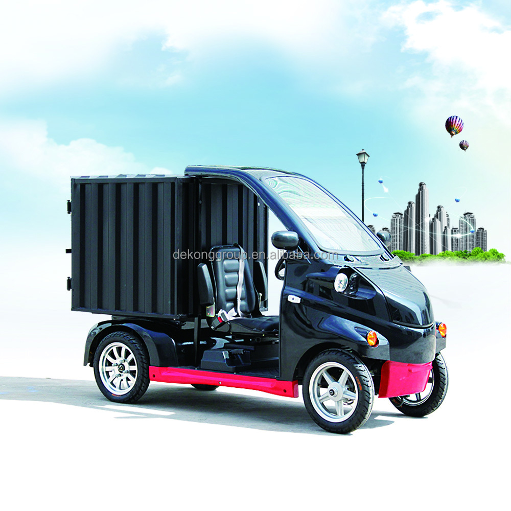 Small Electric Express Delivery Van For Supermarket
