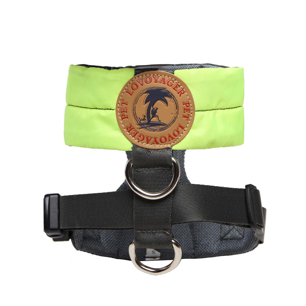 Lovoyager comfort dog harness soft waterproof pet harness made by nylon