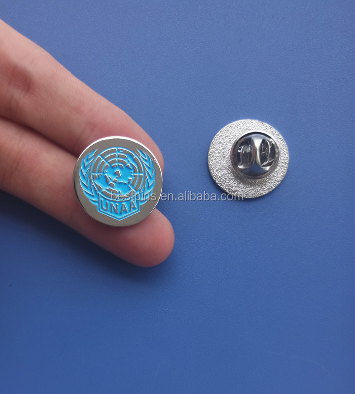 Custom World Peace Australia United Nation 20mm Emanel Logo Pins