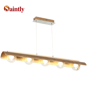 2019 New design istanbul modern style hanging frame parts transparent glass bulb cob chandelier lamp