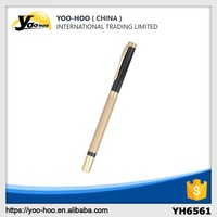 busniess promotional pen with custom logo promotional metal ball pen
