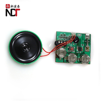 Custom electronic led light sound module for music box