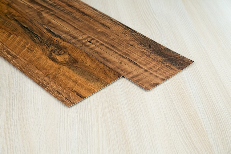 Pvc vinyl vloertegels vinyl vloeren vel hout reliëf vinyl vloeren