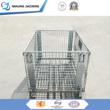 Reliable Experience Nice Designed stackable folding wire containers