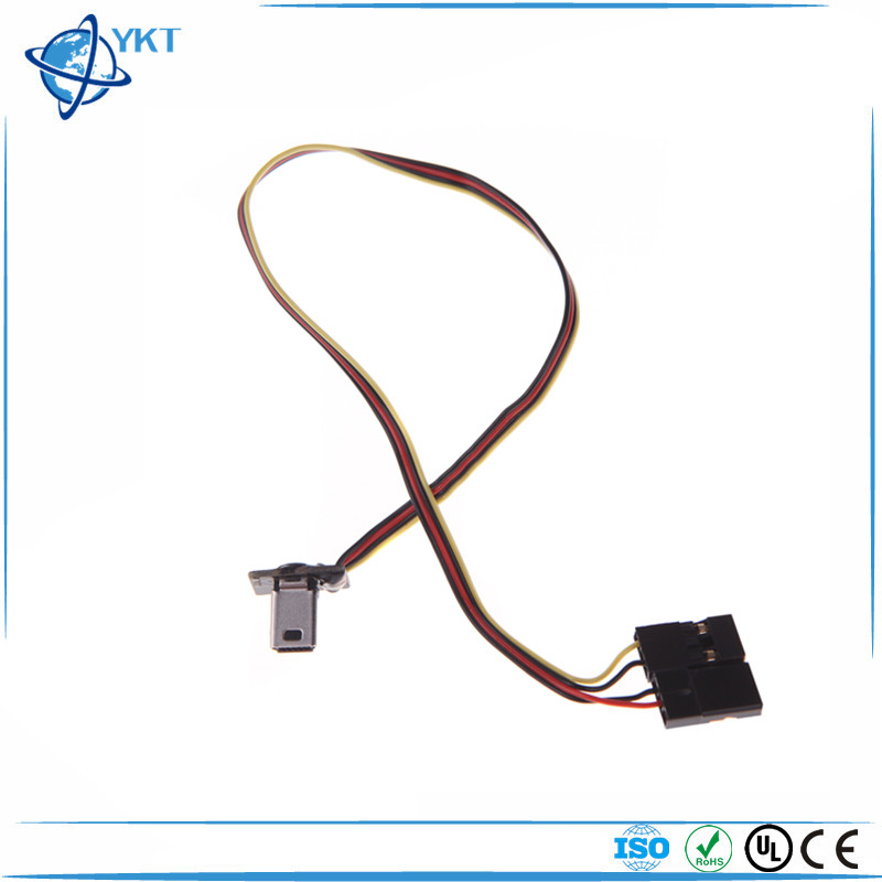 GoolRC USB 90 Degree to AV Video Output & 5V DC Power BEC Input Cable