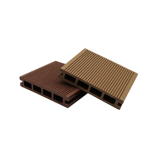 Wood plastic composite decking cheaper and better than steel bridge decking  construction with plastic dock decking