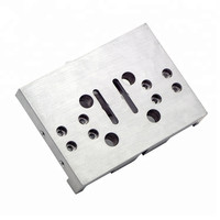 High Precision Anodized Aluminum CNC Lathe Part