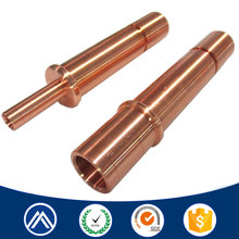 Custom hot forged parts, cnc brass pipe part, brass machining part