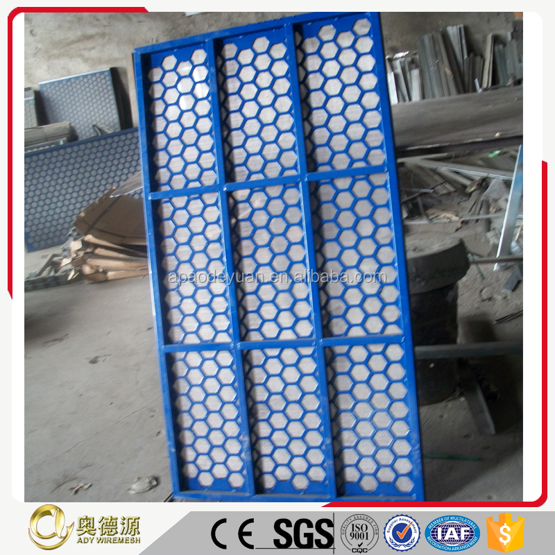 Eco-Friendly Feature shale shaker screen / oil vibrating sieving mesh