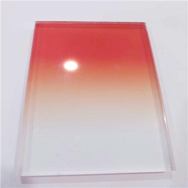 Градиент закаленное ламинированное стекло лист цена для коммерческого здания