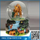 Giraffe & Wild Jungle Animals Snow Globe - Sculptured Resin Water globes cheap price snow globes