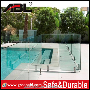 government building used balcony balustrade glass railing fittings