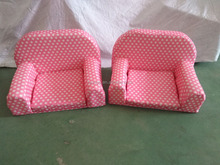 Mini baby doll toy low chair & doll sofa