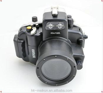 40m Digital Camera Waterproof Underwater Housing For Nikon D 7000 18mm 55mm