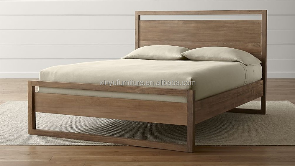 2017 New Model Design Wooden Adult Single Bed Xyn5109