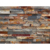 foshan decorative 150x600mm rusty natural culture stone cladding wall panel for tv wall