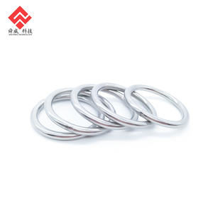 Decorative Metal Openable O Ring For Bag