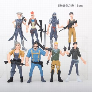Plastic Game Fortnite Character Figure Anime 6 inches Collection Model llamas Toy