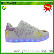 2016 Rio Olympics Athletes wear color changing bulk light up led shoes wholesale
