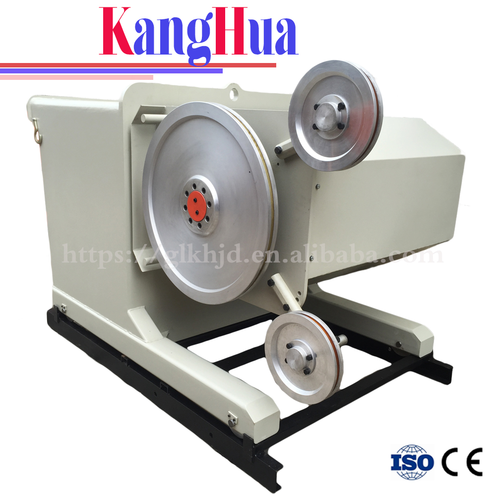 Rock cutting wire saw machine