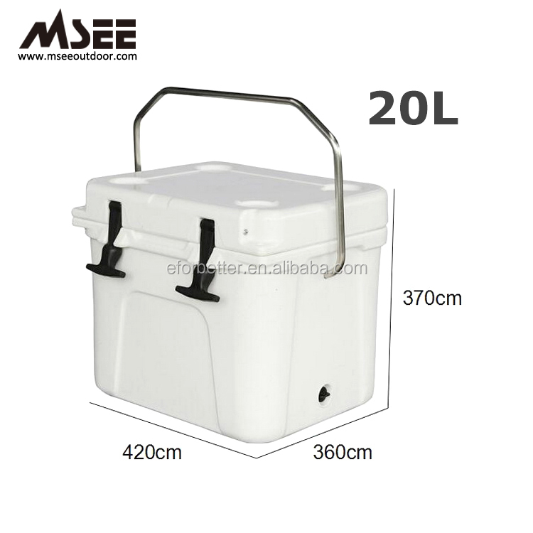 Outdoor Camping Storage Container Rotololded Insulated Milk Cooler Box