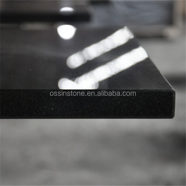 Natural Black Granite Stove Fireplace Hearths &Panels