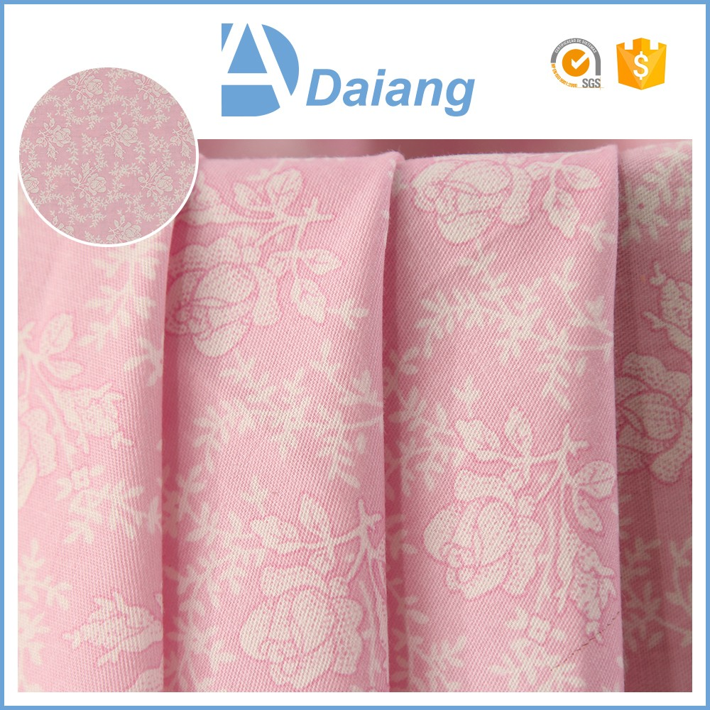 stock wholesale cheap custom flower 40s 100% twill cotton printed fabric african prints for bed sheets