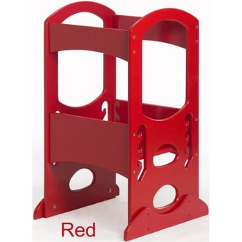 Admirable Red Color Solid Wood Learning Tower Step Stool For Kids Buy Step Stool For Children Wood Chinese Stool Cheap Kitchen Bar Stool Product On Uwap Interior Chair Design Uwaporg