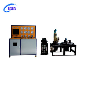 Model : US-10-DN200 computer control pneumatic safety relief valve test equipment for calibrating