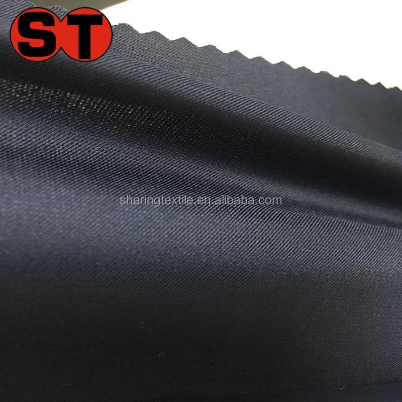 REPREVE RPET Recycled Polyester Weft Stretch Taffeta Fabric/Recycled Polyester Spandex Pongee Fabric/RPET 2 way Stretch Fabric