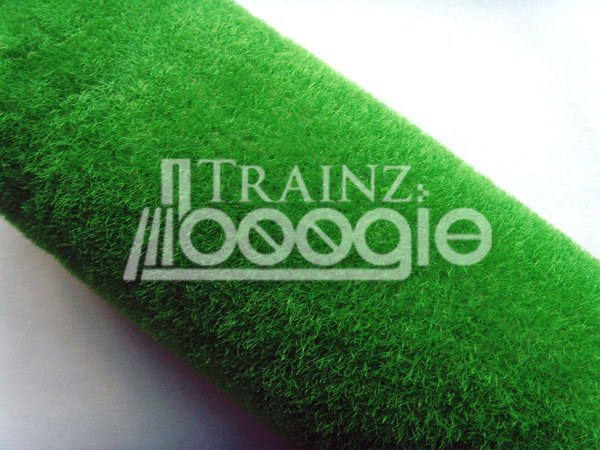 Model Grass Mat In Meadow Green For Model Trains