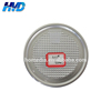 307# easy peel end easy peel off end aluminum foil lid
