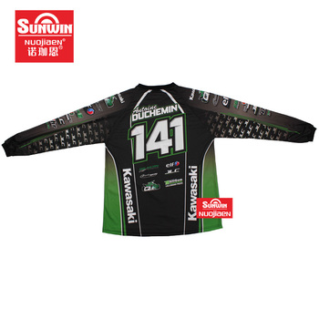 2019 Custom colorful design Directly factory cheap bmx jerseys