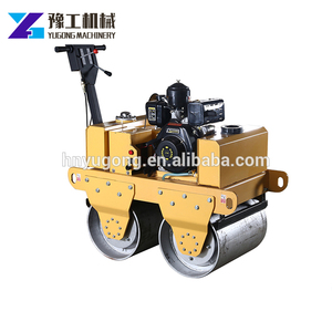 Good Performance hydraulic 1ton road roller high heavier body vibratory with Heavy Wheels