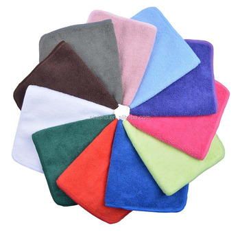 Absorbent Microfiber Dish Cloth Kitchen Streak Free Cleaning Rags Lens Cloths 12inchx12inch