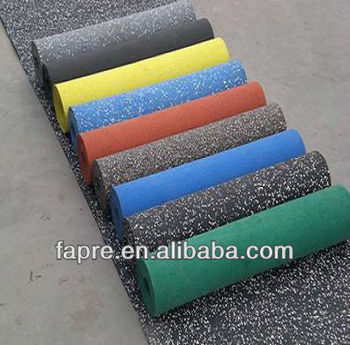 Free Sample Hot Sales Non Toxic Rubber Roll Gym Flooring Fitness